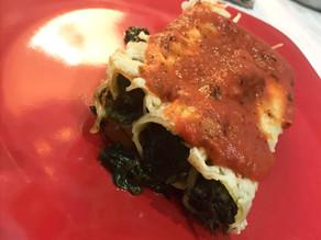Cannelloni aux Epinards.