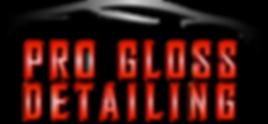 pro gloss detailing logo