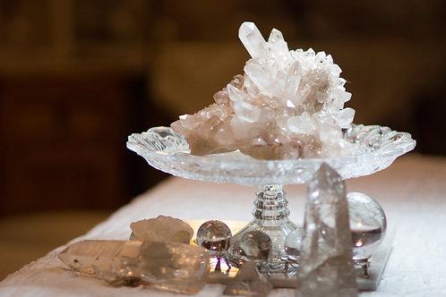 Pink HImarayan crystal