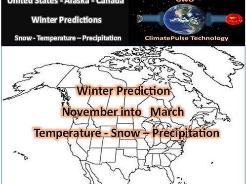 2021 United States and Canada Winter Outlook