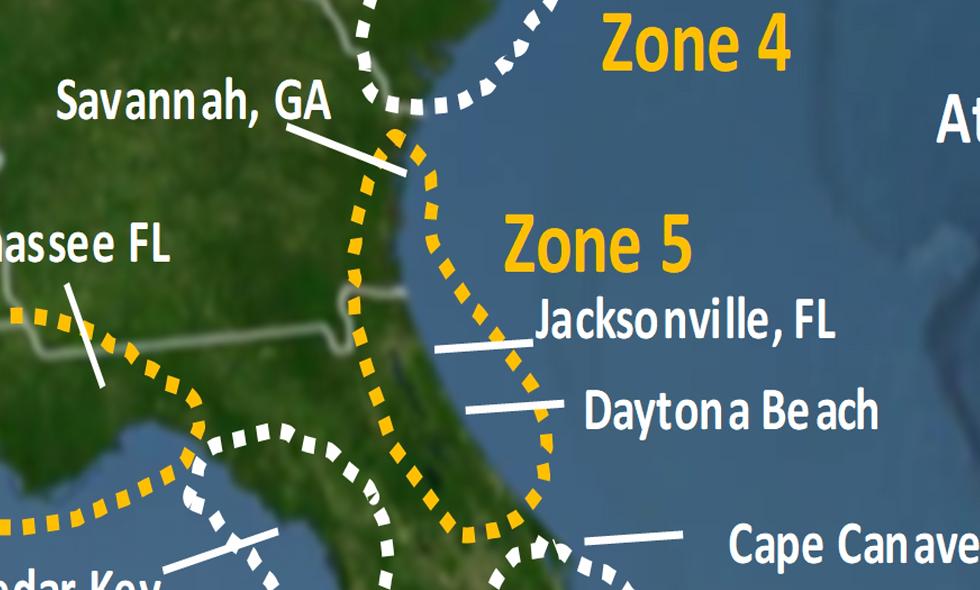 Zone 5 2021 Hurricane Landfall Prediction - webinars not included