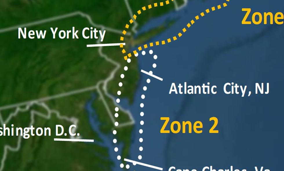 Zone 2 2021 Hurricane Landfall Prediction - webinars not included
