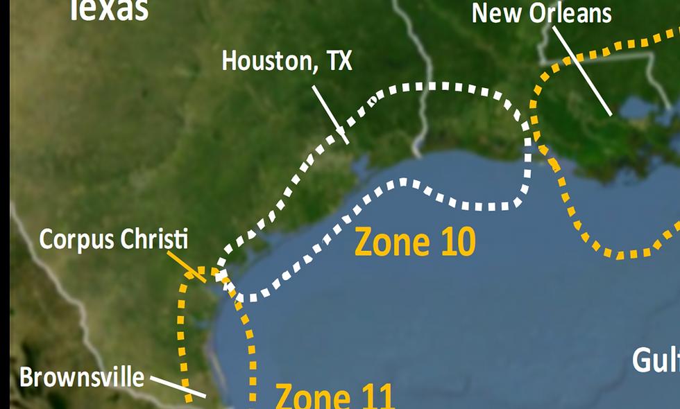 Zone 10 2021 Hurricane Landfall Prediction - webinars not included
