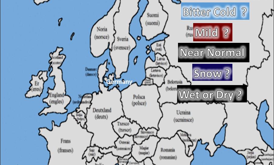 2021-22 Europe - British Isles Winter Outlook