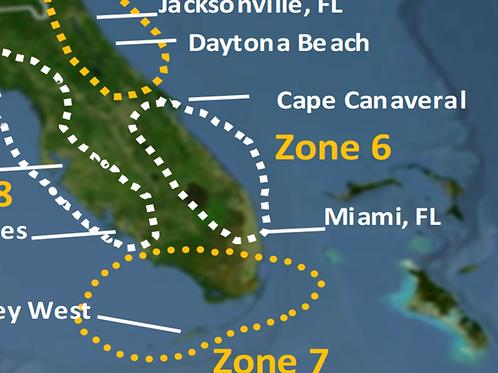 Zone 6 2020 Hurricane Landfall Prediction - webinars not included
