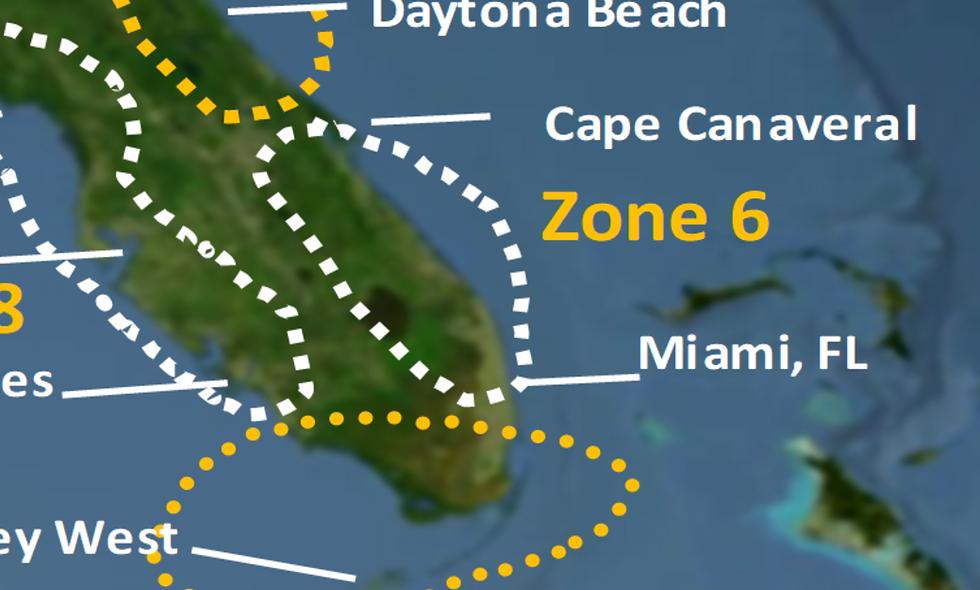 Zone 6 2021 Hurricane Landfall Prediction - webinars not included