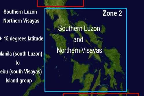 Zone 2 Visayas Islands 2015
