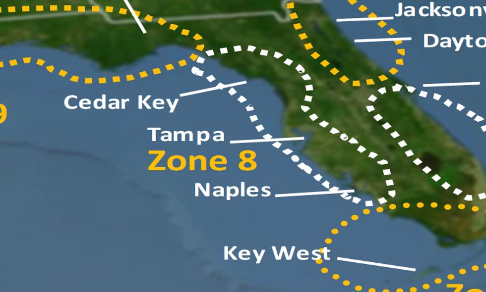 Zone 8 2021 Hurricane Landfall Prediction - webinars not included