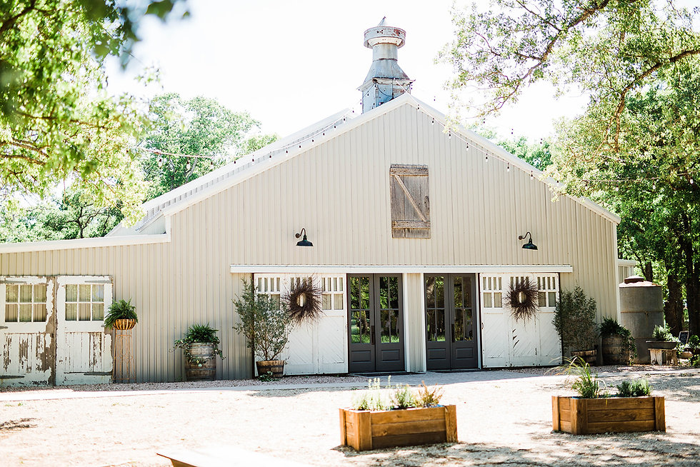 Central Texas Wedding Venue - Waco Wedding Venue
