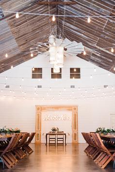 Central Texas Wedding Venue - Indoor Reception