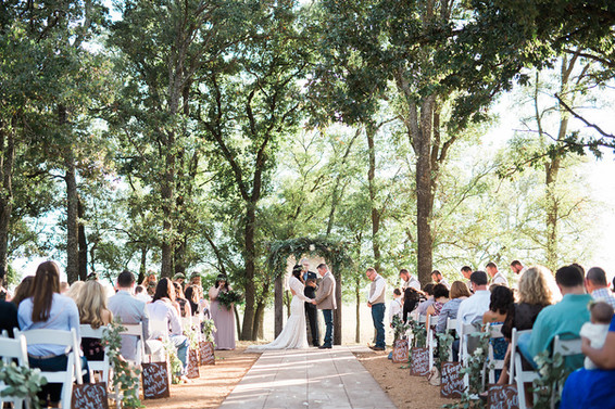 Central Texas Wedding Venue - Outdoor Wedding