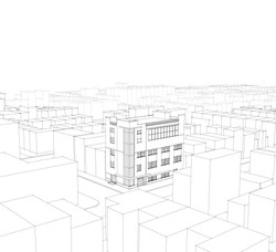 Site Model View #2 A sq