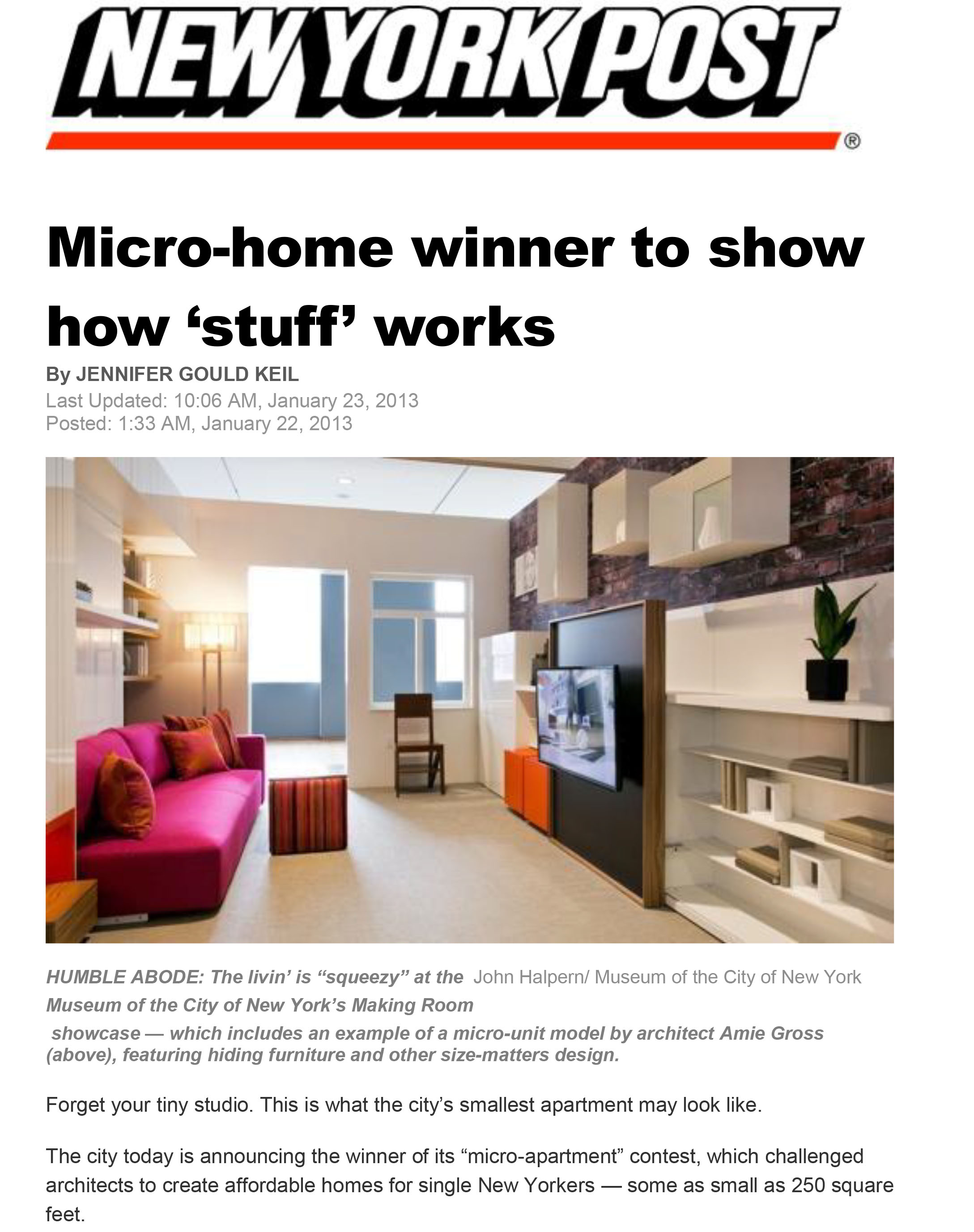Making Room_NY Post_Micro -Home Winner to Show How Stuff Works-1