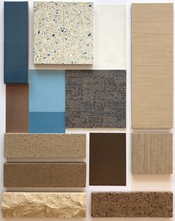 Materials Board 1 - Brick Fixed