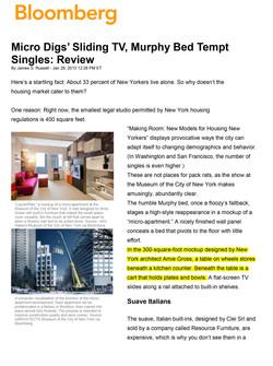 Making Room_Bloomberg_ Micros' Sliding TV, Murphy Bed Tempt Singles-1
