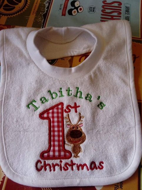 Personalised Christmas Bibs
