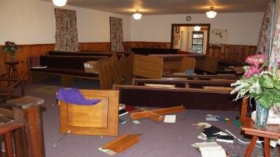 church vandals