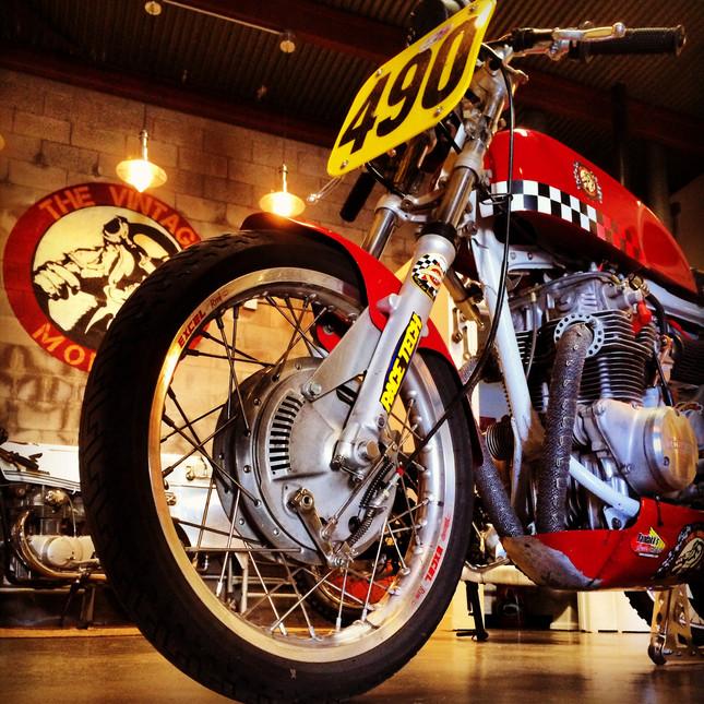 Vintage 350 race bike