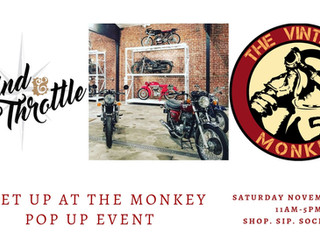 MEET UP AT THE MONKEY!