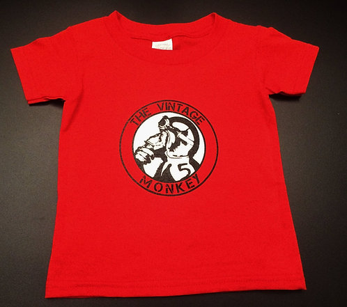 Vintage Monkey Kid's Shirt