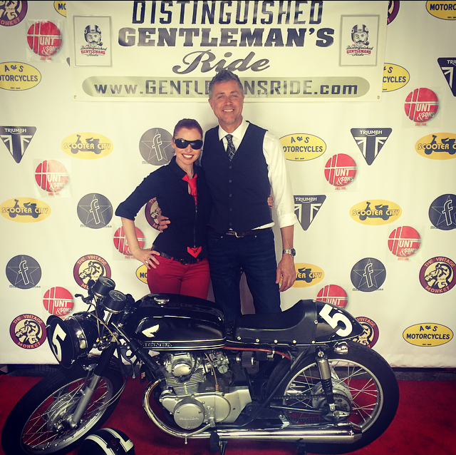 Shasta Smith with Sean at DGR 2015