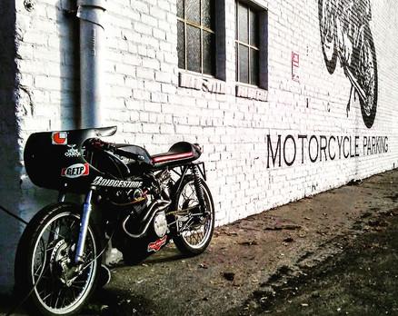 Vintage 160 Race Bike