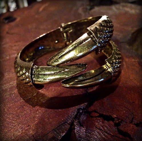 Vintage Claw Bangle