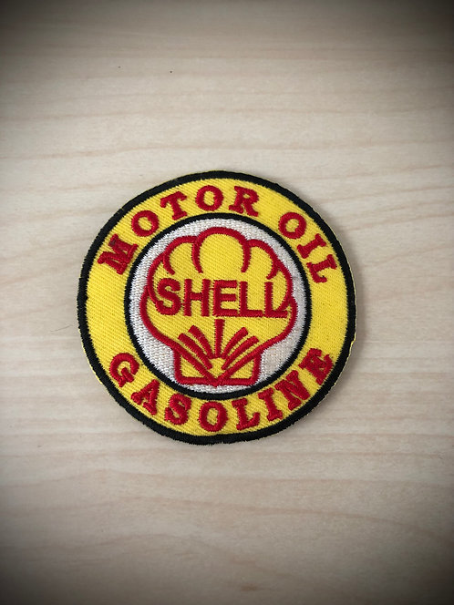 Shell Motor Oil Patch