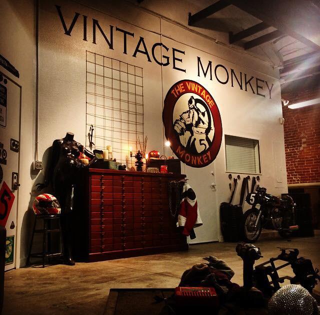 Vintage Monkey Motorcycle Shop
