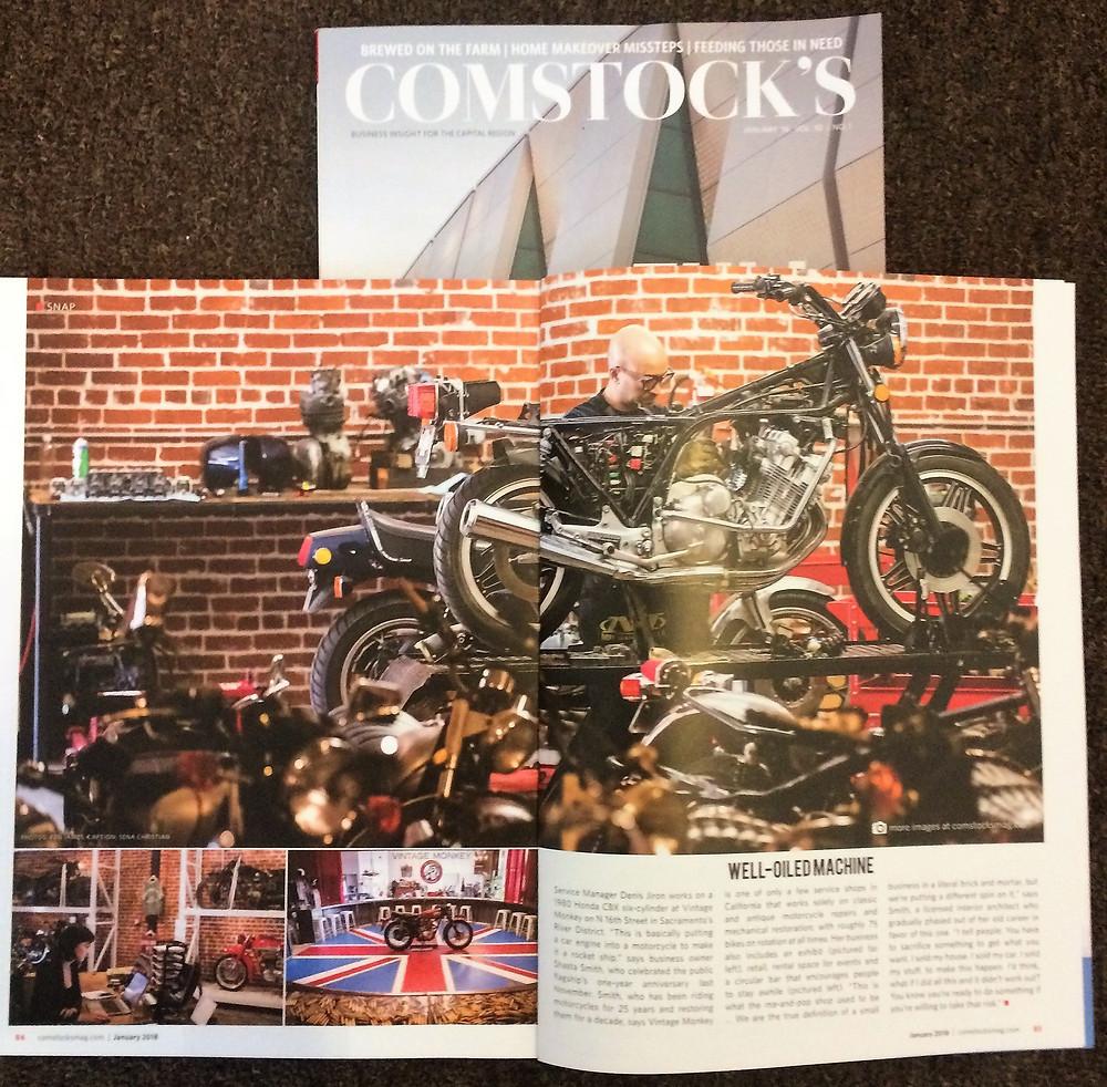 Comstocks Magazine - Vintage Monkey
