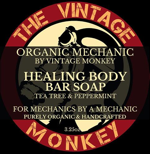 Healing Body Bar Soap - Tea Tree & Peppermint