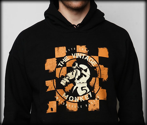 Checkered Racer Hoodie - Mens