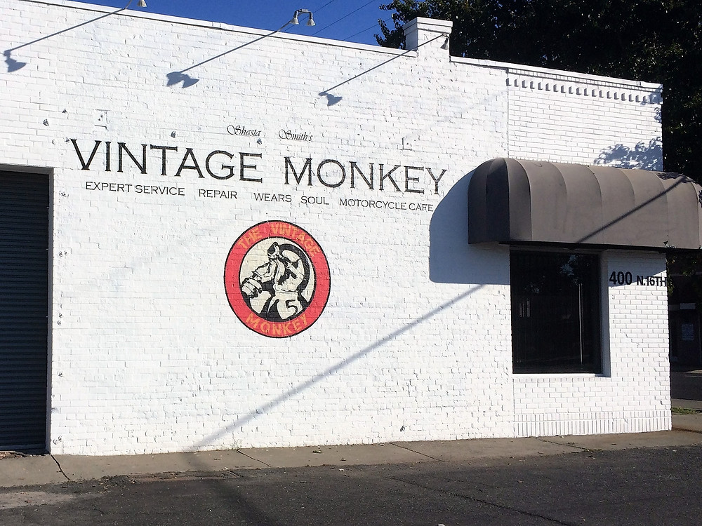 The Vintage Monkey Motorcycle Service Shop
