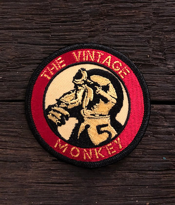 Vintage Monkey Circle Patch