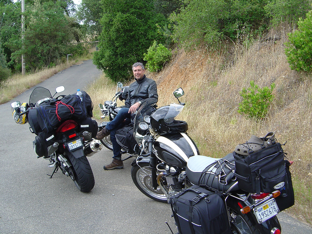 Long distance moto travel