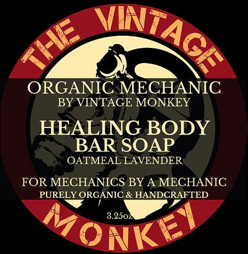 Healing Body Bar Soap - Oatmeal Lavender