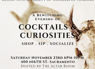 COCKTAILS & CURIOSITIES