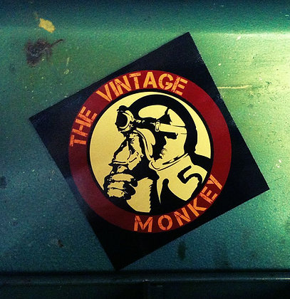 Classic Vintage Monkey Decal