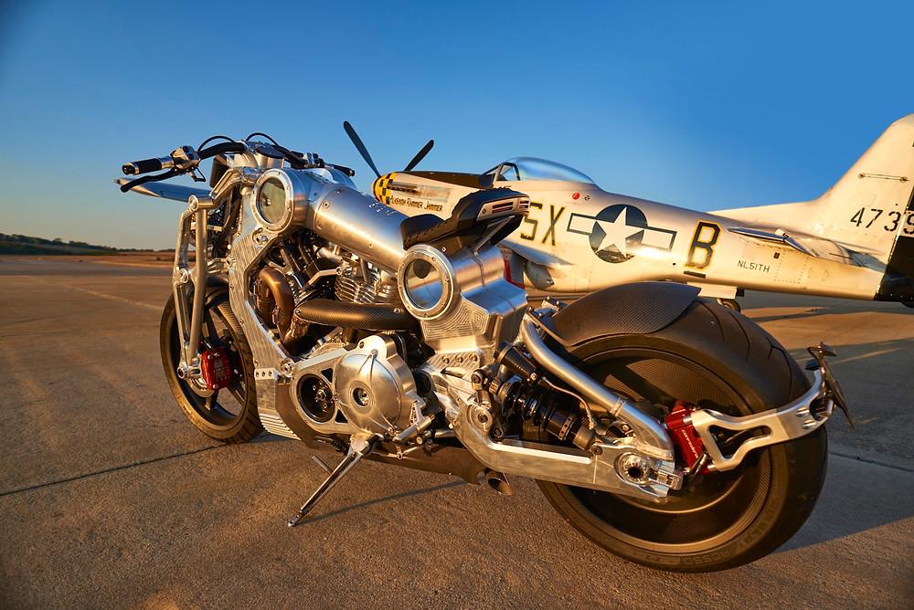 Confederate motorcycle