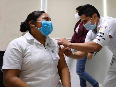 Aplicación de la vacuna, responsabilidad del gobierno federal: SSY
