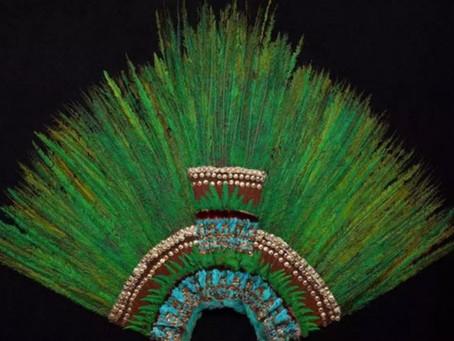 ¡Insólito! Estos son los Datos más curiosos del penacho de Moctezuma