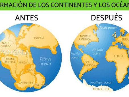 Cómo se formaron los continentes