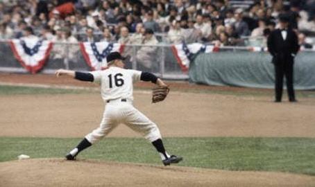 """Edward Charles """"Whitey"""" Ford, un histórico de los Yankees de Nueva York"""