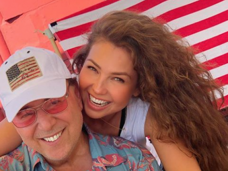 Thalía festeja 20 años de matrimonio con Tommy Mottola