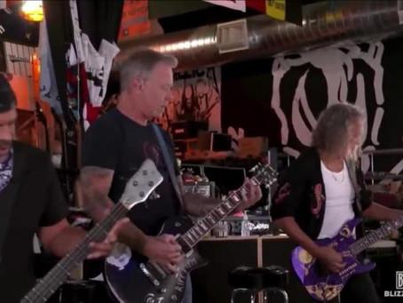 Censuran a Metallica de su propio concierto en Twitch