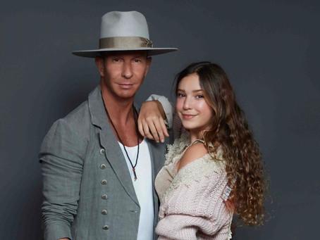 Erik Rubín y su hija Mía cantan juntos por primera vez en TV