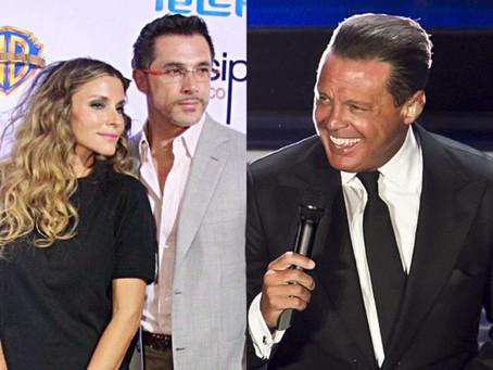 Sergio Mayer no habla de Luis Miguel con Issabela Camil