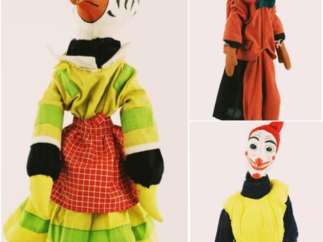 El Museo Nacional de Culturas Populares revive juguetes del teatro guiñol