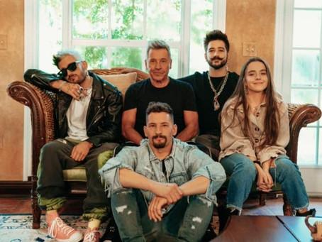 """Ricardo Montaner estrena """"Amén"""" junto a sus hijos y Camilo"""