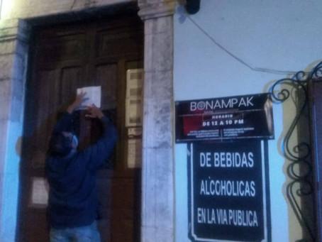 Clausuran un restaurante y un bar ubicados en Mérida por no respetar las medidas sanitarias